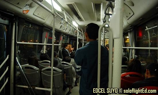 Public Bus Number 550