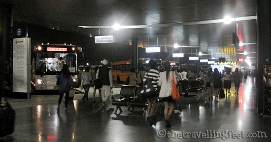 Transport Center outside of Suvarnabhumi Airport