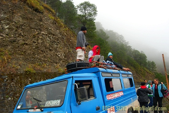 top loading to Sagada