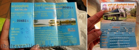 bus tickets Sihanoukville to Bangkok