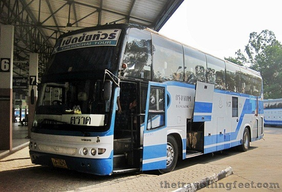 bus to bangkok in trat