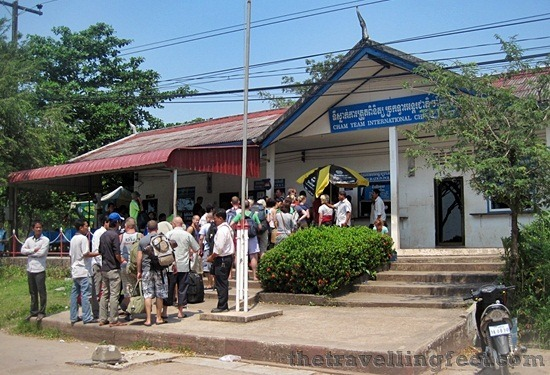 Cham Yeam International Checkpoint, Koh Kong border crossing Sihanoukville to Bangkok