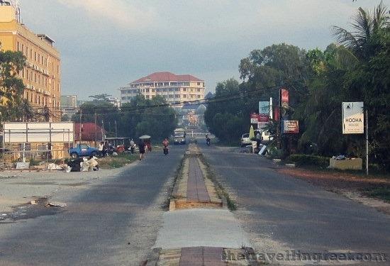 Sihanoukville road