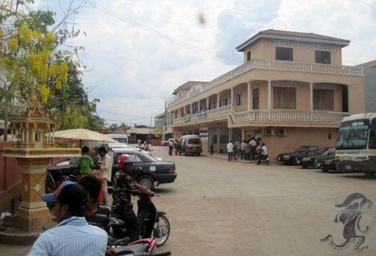 poipet government bus terminal