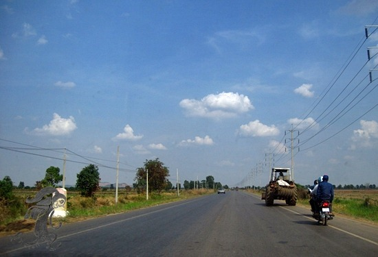 poipet to siem reap road