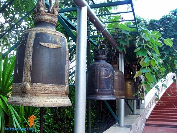 bells at Wat Saket