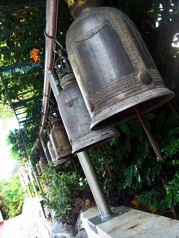 bells surrounding Wat Saket