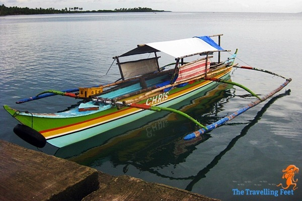 boat going to Biri Island