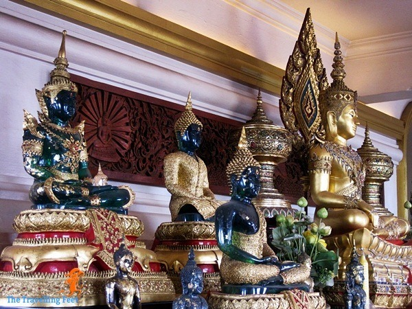 Emerald Buddha at Wat Saket