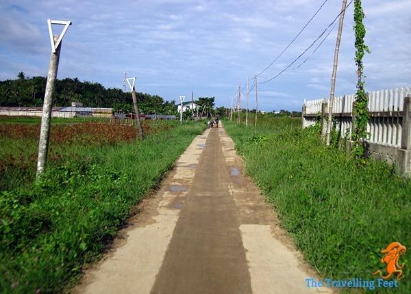 road in Biri