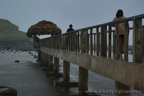 viewing deck at Biri Island
