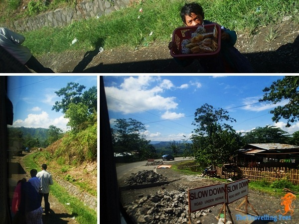 road blocks on our way to Bukidnon