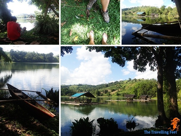 things to do in Bukidnon - visit Lake Apo