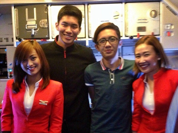 Air Asia cabin crew photo