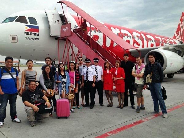 AirAsia Zest Inaugural flight from Cebu to Kuala Lumpur