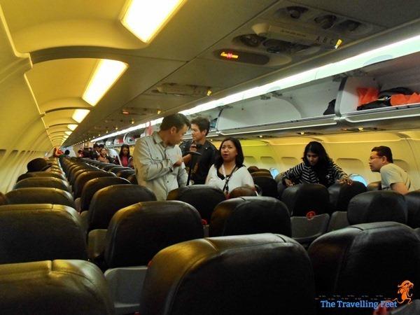 finding seats onboard AirAsia inaugural flight from Cebu to Kuala Lumpur