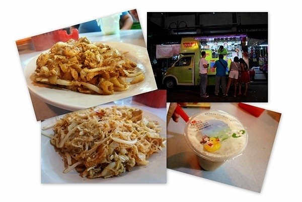 street food in jalan alor